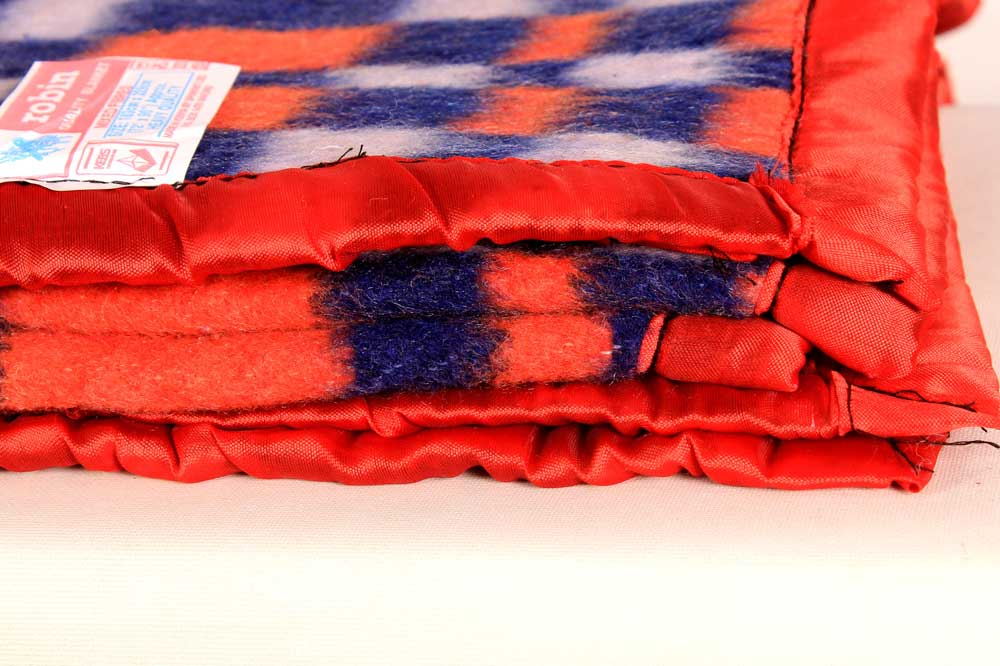 robin checks blankets